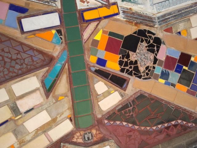 Waywardspirit Art Austin 11th Street Mural Close Up